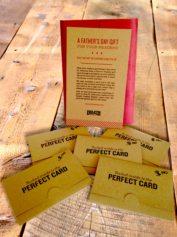 Duluth Trading Co. gift card giveaway!