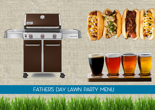 father's day party menu ideas