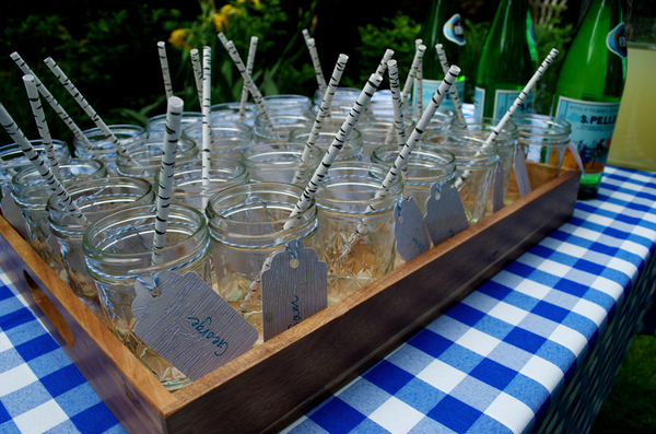 Birch bark straws