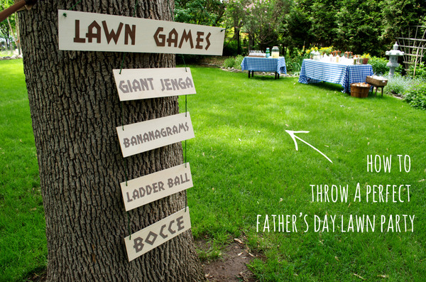 How to throw a perfect father's day party
