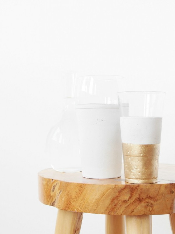 concrete cup DIY