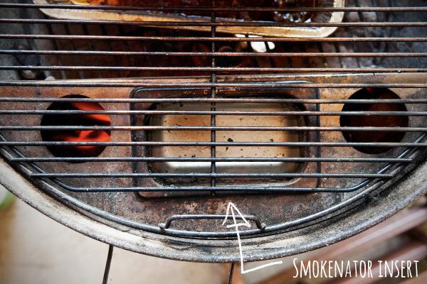 Smokenator grilling insert