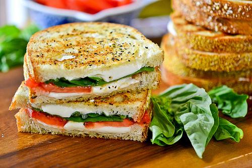 Grilled Margherita Sandwich