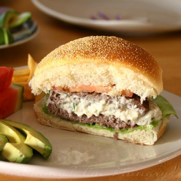Grilled Jalapeno burger