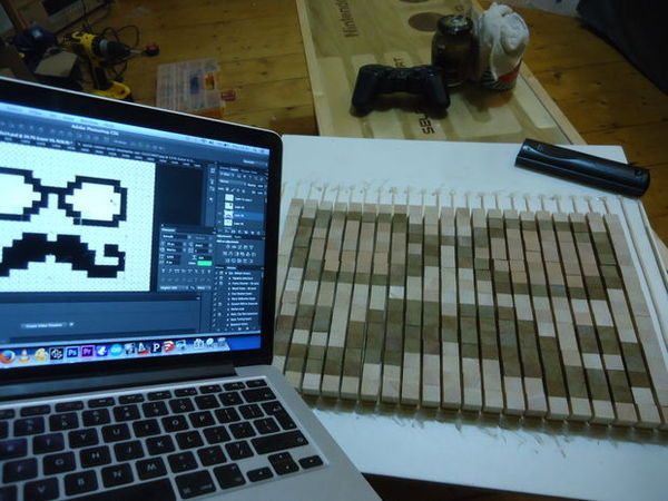 Pixel Art Chopping Board
