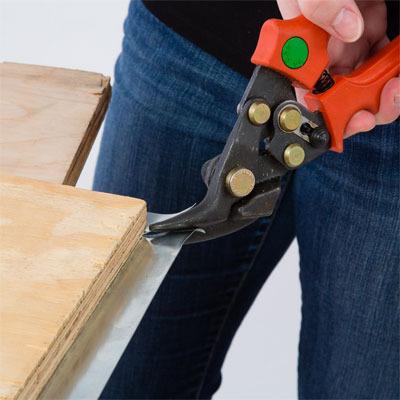 Cutting Zinc At Edges