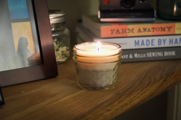 Turn all your old candles into a new candle