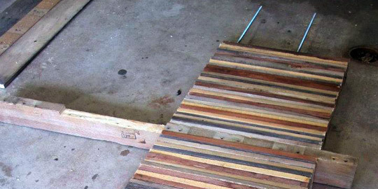 Amazing Table made of Pallets