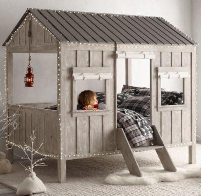 The Cabin Bed - Restoration Hardware