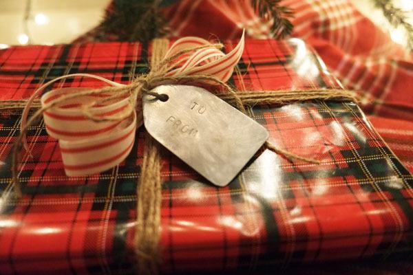 DIY Aluminum Gift Tags