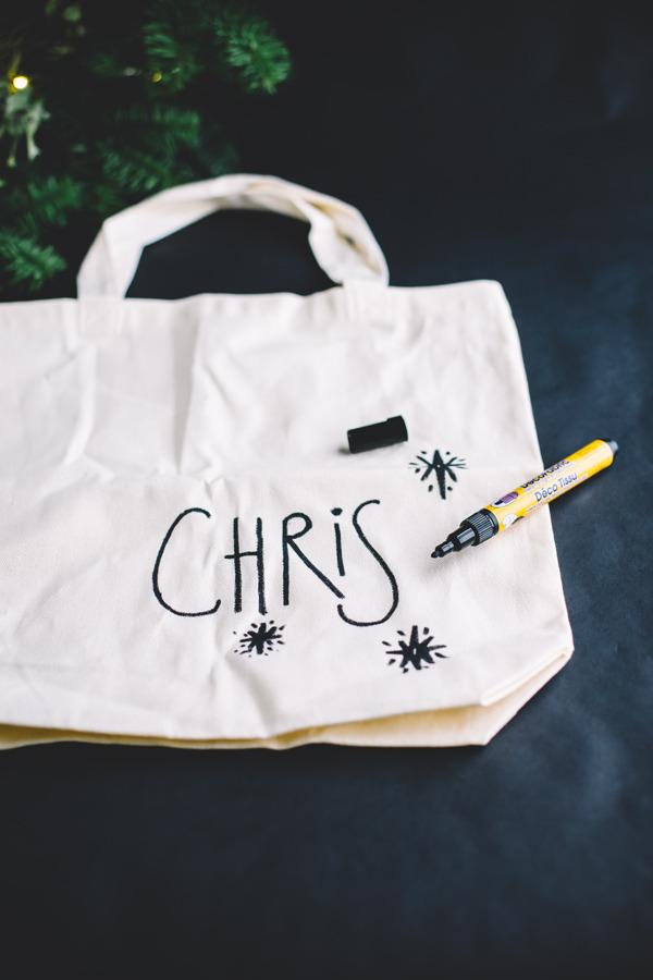 personalized tote bag DIY