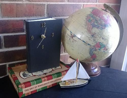 DIY Book Clock