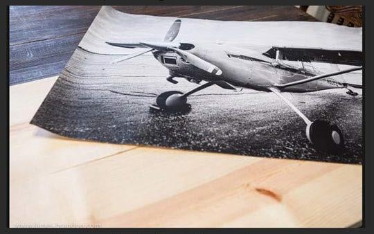 Transferring A Print To Wood