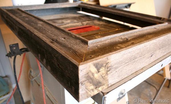 Flat Screen Wooden Frame