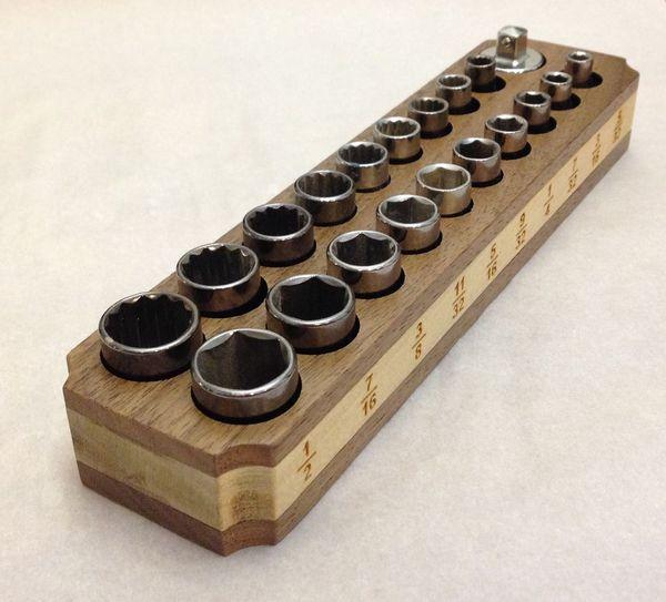 Wooden Socket Holder