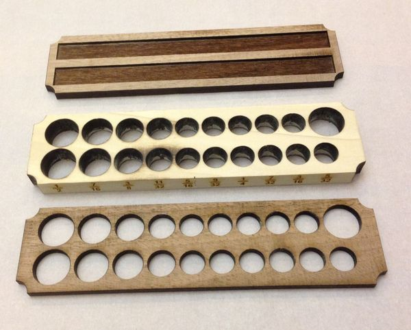 Pieces for Wooden Socket Holder
