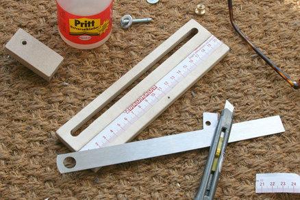 Pieces for a Custom Set-Up Gauge