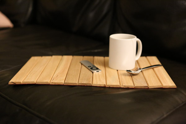 How To Make A Stylish Multi Purpose Wood Roll Up Tray