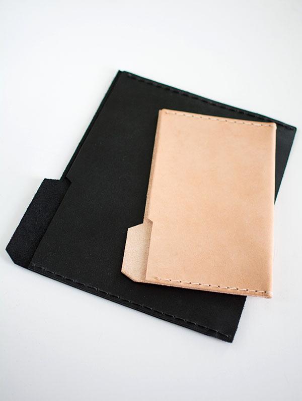 Finished Leather Folder