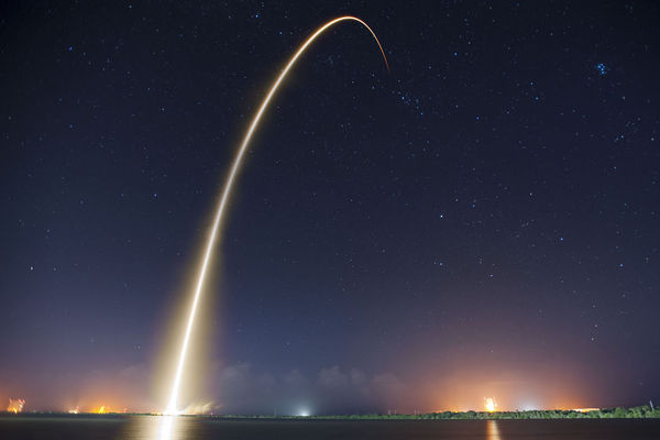 Space Launch Photo