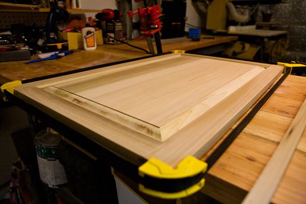 Gluing up a panel