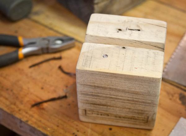 Finishing a Wood Block