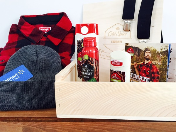 Old Spice prize package
