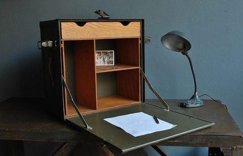 WWII Field desk
