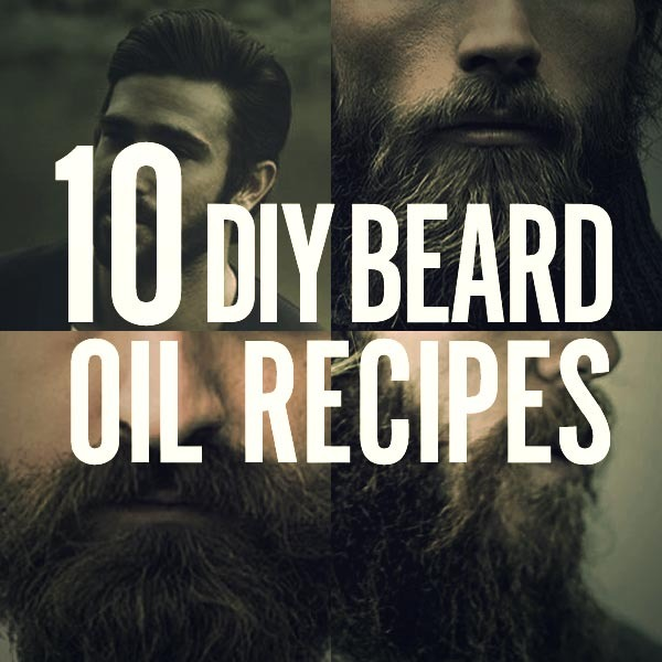 homemade beard oil recipes