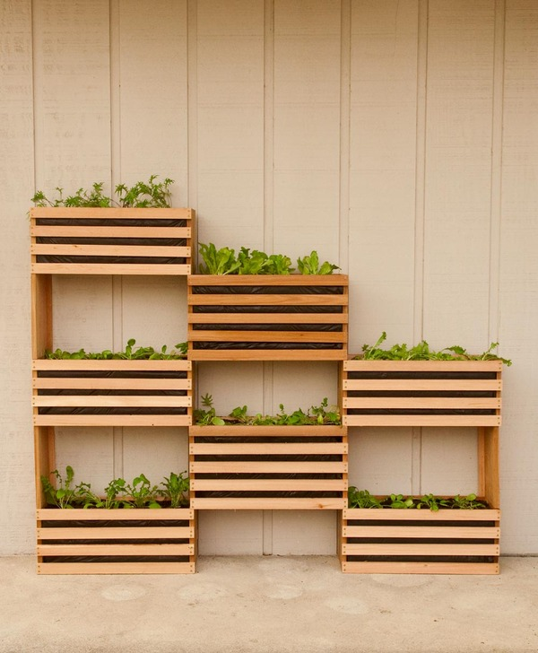 How To Make A Modern Space Saving Vertical Vegetable Garden Manmade Diy
