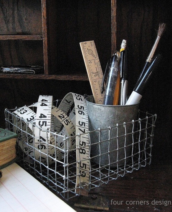 DIY industrial basket