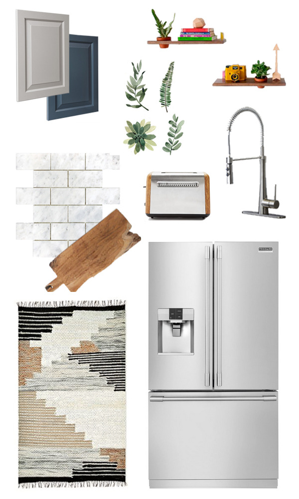 Our kitchen upgrade mood board