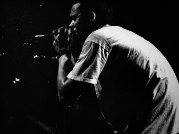 Slug performing at First Avenue in 2001