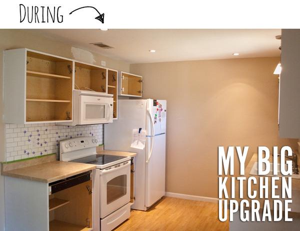 David's kitchen remodel process