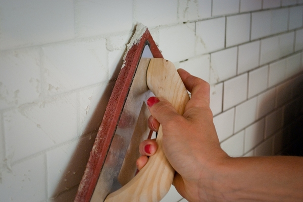Adding Grout