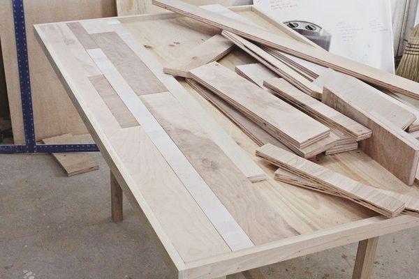 Make It Diy Scrap Wood Dining Table Man Made Diy