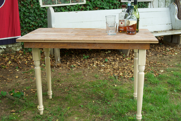 Make your own folding farm table
