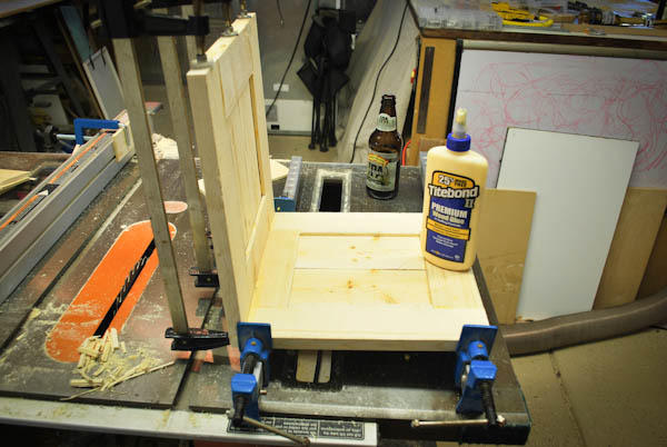 Gluing Up Panels