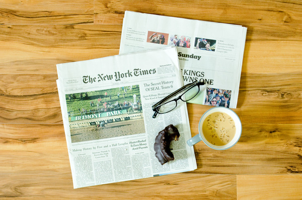 Sunday New York Times Subscription