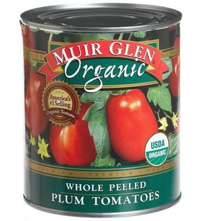 Muir Glen Whole Peeled Plum Tomatoes are the best