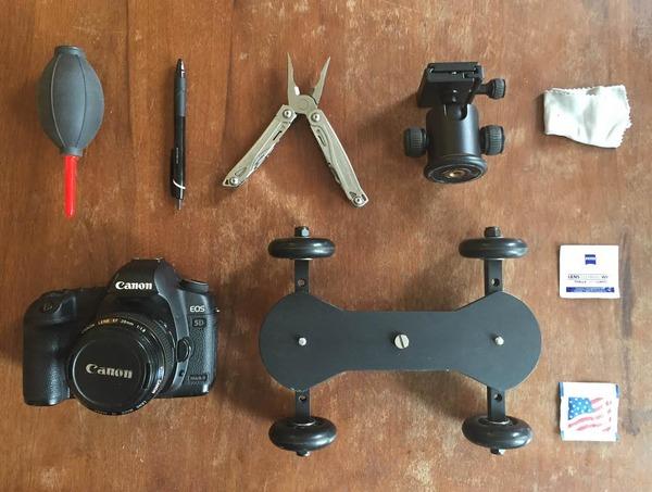 Indie Filmmaker John Kingman: gear bag