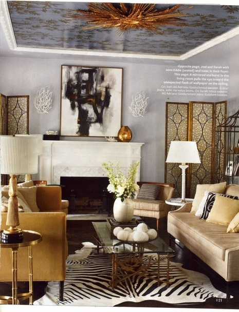 The Masculine Glam Home Of Joel Mchale Man Made Diy