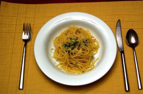 ManMade Spaghetti Aglio e Oglio Recipe
