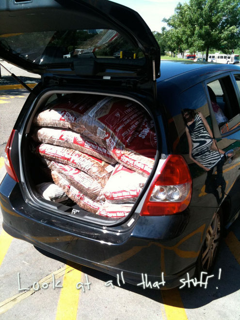 We love our Honda Fit. You can get anything in there