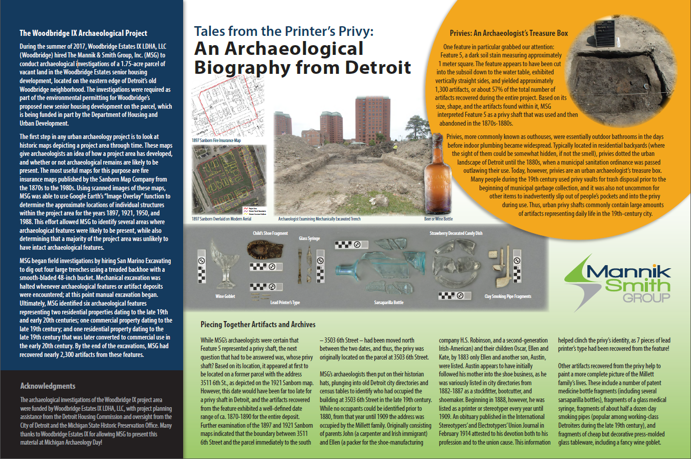 An Archaeological Biography from Detroit: Michigan