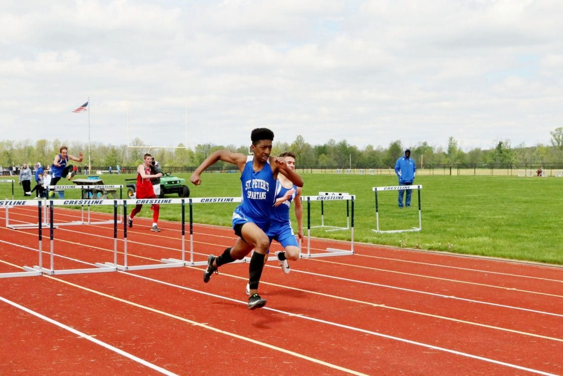 Regional Track Qualifiers! - St  Peter's School