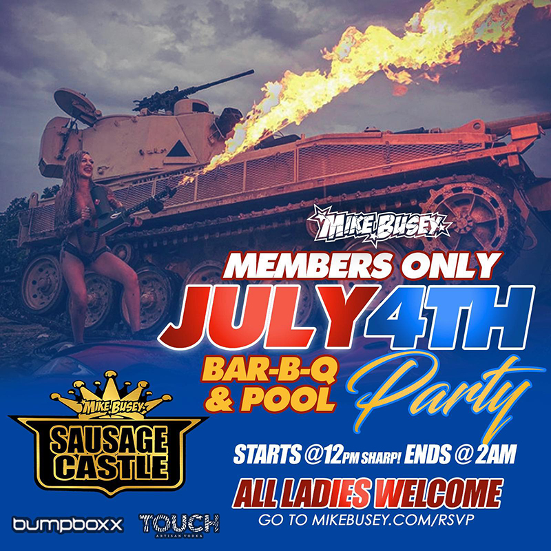 MIKE BUSEY'S JULY 4