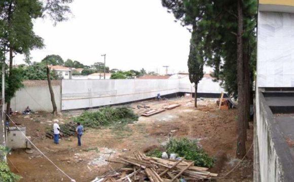 Execução da Casa Planalto em concreto estrutural