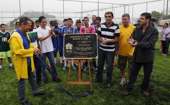 Morro do Pinto recebe revitalização urbana