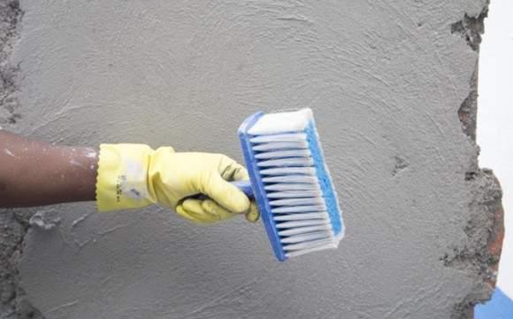 Regularize o reboco de parede